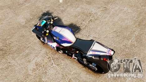 Yamaha YZF-R1 PJ2 для GTA 4 вид справа