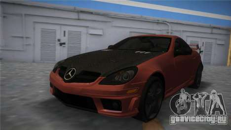 Mercedes-Benz SLK55 AMG Tuned для GTA Vice City