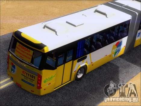 Прицеп Neobus Mega BRT Volvo B12-340M для GTA San Andreas вид сверху
