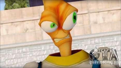 Earthworm Jim для GTA San Andreas