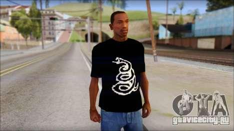 Metallica Logos T-Shirt для GTA San Andreas