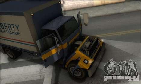 GTA IV Yankee для GTA San Andreas вид сзади