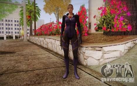 Jill Valentine from Resident Evil для GTA San Andreas