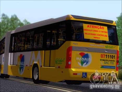 Прицеп Neobus Mega BRT Volvo B12-340M для GTA San Andreas вид слева