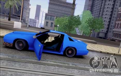 Buffalo Drift Style для GTA San Andreas вид снизу