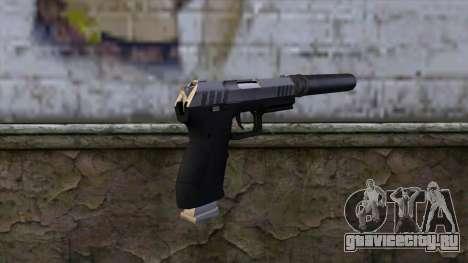 Silenced Combat Pistol from GTA 5 для GTA San Andreas второй скриншот