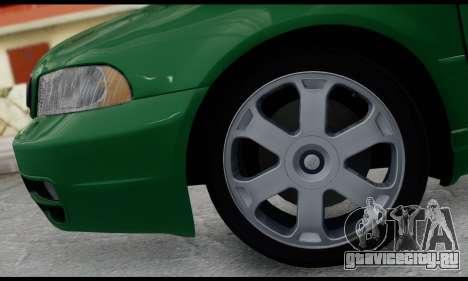 Audi S4 2000 для GTA San Andreas вид сзади