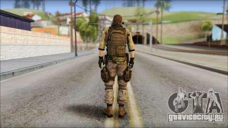 Piers Nivans Resident Evil 6 для GTA San Andreas второй скриншот