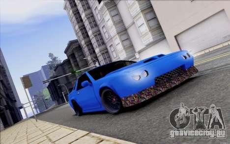 Buffalo Drift Style для GTA San Andreas вид изнутри
