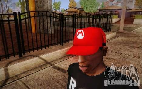 Super Mario Cap для GTA San Andreas третий скриншот