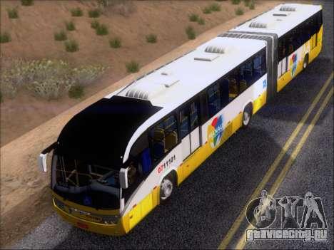 Neobus Mega BRT Volvo B12M-340M для GTA San Andreas салон