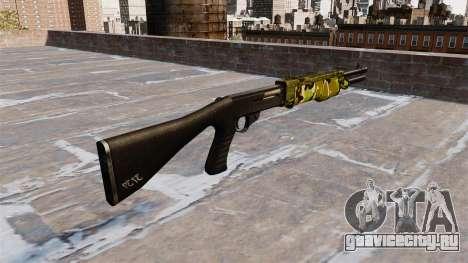 Ружьё Franchi SPAS-12 Woodland для GTA 4 второй скриншот