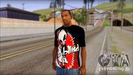 Blind Shirt для GTA San Andreas