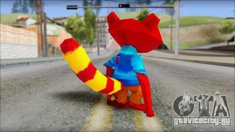 Chang the Firefox from Fur Fighters Playable для GTA San Andreas третий скриншот