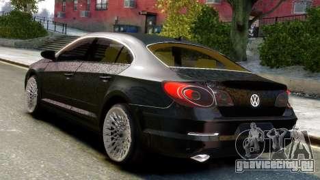 Volkswagen CC для GTA 4 вид слева