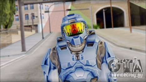 Masterchief Blue from Halo для GTA San Andreas