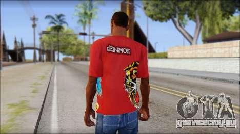 Ed Hardy Designer T-Shirt для GTA San Andreas второй скриншот