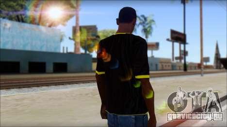 Harley Davidson T-Shirt для GTA San Andreas второй скриншот