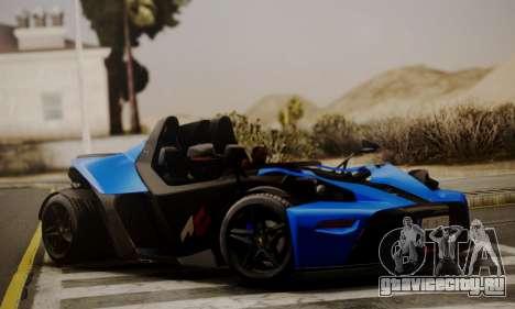 KTM X-Bow R 2011 для GTA San Andreas