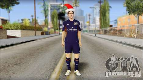 Messi Arsenal Christmas Special для GTA San Andreas