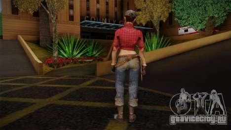 Misty from Call of Duty: Black Ops для GTA San Andreas второй скриншот
