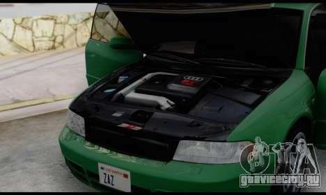 Audi S4 2000 для GTA San Andreas вид сбоку