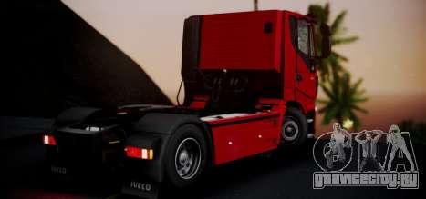 Iveco Stralis HI-ROAD для GTA San Andreas вид слева