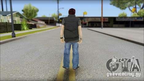 Paul from Good Charlotte для GTA San Andreas второй скриншот