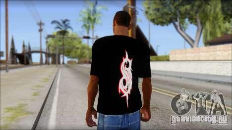 SlipKnoT T-Shirt v5 для GTA San Andreas второй скриншот