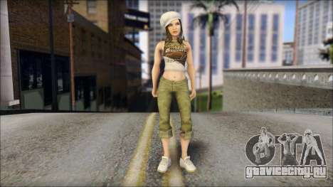 Angehendes Fräulein для GTA San Andreas