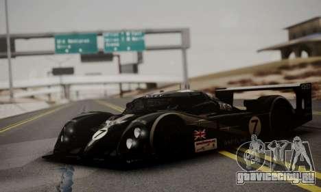 Bentley Speed 8 2003 для GTA San Andreas