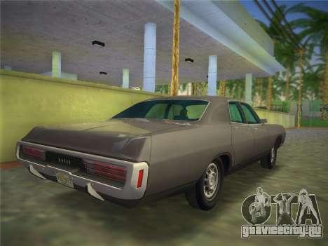 Dodge Polara 1971 для GTA Vice City вид слева