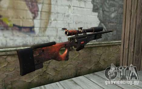 AWP (Space) для GTA San Andreas второй скриншот