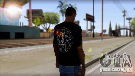 SlipKnoT T-Shirt v4 для GTA San Andreas второй скриншот
