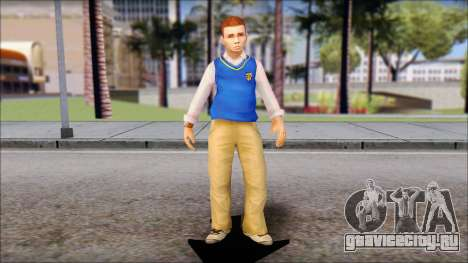 Petey from Bully Scholarship Edition для GTA San Andreas второй скриншот