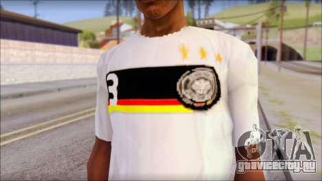 A.Friedrich Trikot T-Shirt для GTA San Andreas третий скриншот