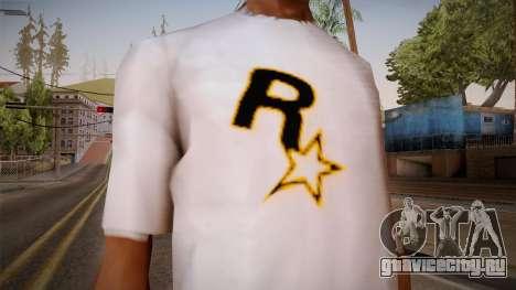 Rockstar Games Shirt для GTA San Andreas третий скриншот