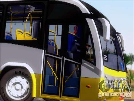 Neobus Mega BRT Volvo B12M-340M для GTA San Andreas вид сбоку