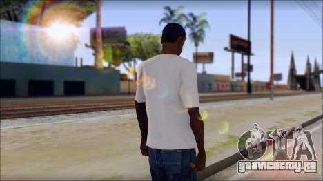 The Clash T-Shirt для GTA San Andreas второй скриншот