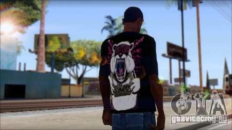 Eskimo Callboy Eisbaer T-Shirt для GTA San Andreas второй скриншот