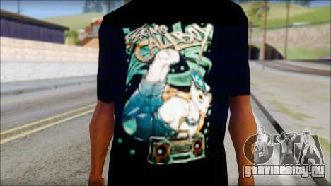 Eskimo Callboy Fan T-Shirt для GTA San Andreas третий скриншот