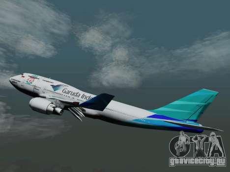 Boeing 747-400 Гаруда Индонезия для GTA San Andreas