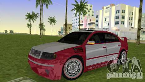 Skoda Superb Tuned для GTA Vice City