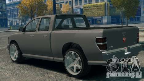 GTA V Bravado Bison для GTA 4 вид слева