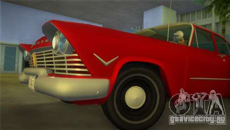 Plymouth Savoy Club Sedan 1957 для GTA Vice City вид справа