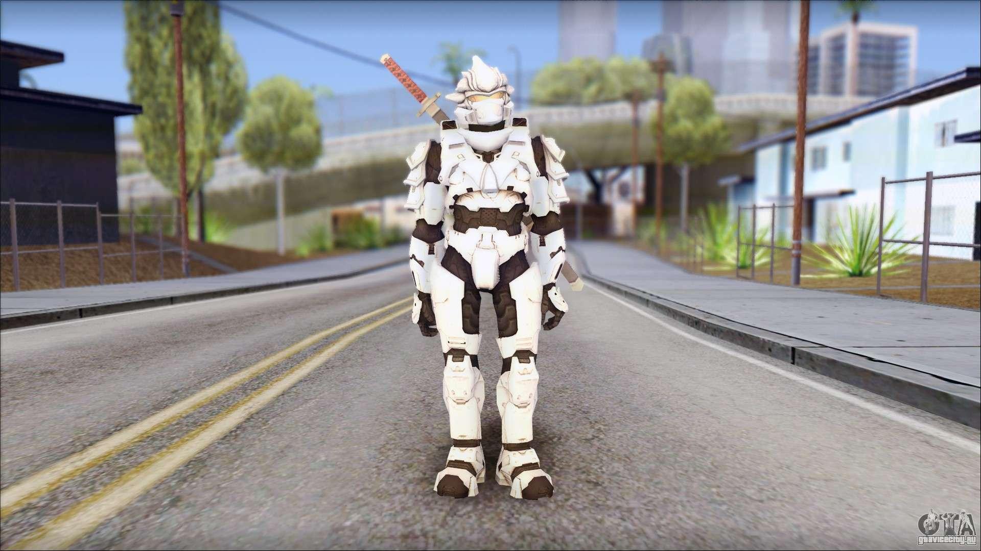 Halo 3 Hayabusa Armor для GTA San Andreas