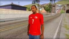 Seleccion Chilena T-Shirt 2010 для GTA San Andreas