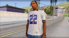 NY Buffalo Bills White для GTA San Andreas