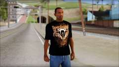 Randy Orton Black Apex Predator T-Shirt для GTA San Andreas