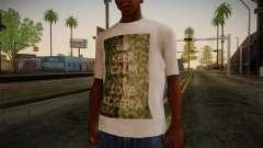 Keep Calm and Love Shirt для GTA San Andreas